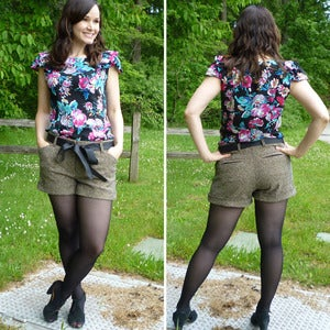 Image of Sewaholic Patterns Thurlow Trousers and Shorts Sewing Pattern