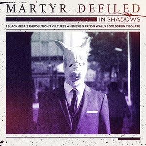 Image of Martyr Defiled In Shadows/Ecophagy 12&quot; Vinyl pre-order