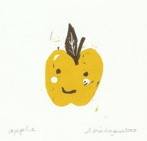 Image of Happy Apple Print