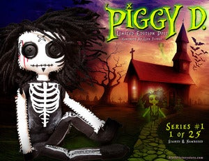 Image of Piggy D. Limited Edition Rag Doll Series #1