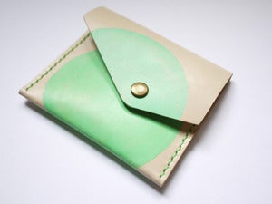 Image of Dot (Painted Mint Green) - Coin Bag