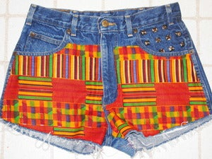 Image of Burning Bush High Waisted Shorts