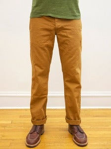 Image of Seconds: Miner Chinos: Org Caramel