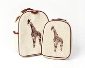 Image of So Young Mother Toddler Backpack - Giraffe