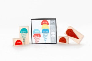 Image of Many Thanks Ice Cream Stamp Set