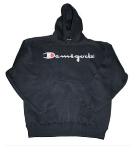 Image of Demigodz Champion Hoodie - Black
