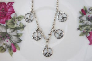 Image of Multiple Peace Necklace