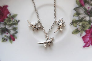 Image of Dainty Dino Necklace