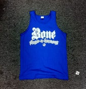 Image of Bonethugs Tanktop &quot;Blue&quot;