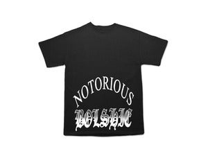 Image of NOTORIOUS BOL$HIE T-SHIRT BLACK
