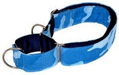 Image of Camouflage blue - Martingale on UncommonPaws.com