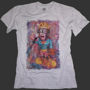 Image of Stormin' Norma Guys T-shirt - Grey