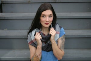 Image of Bird's Eye Infinity Scarf