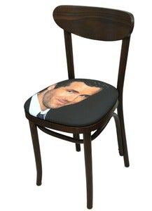 Image of Sit on my Face Ryan Reynolds Art Chair