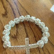 "Image of ""Shine"" Cross Bracelet"