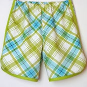 Image of Retro shorts in lime