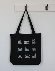 Image of Black Tote Bag (new!)