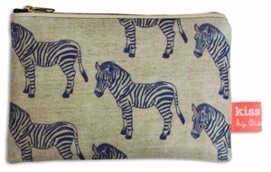 Image of 'Zebra Surprise' Oilcloth Purse