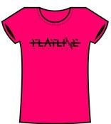 Image of Girl's Hot Pink T-Shirt