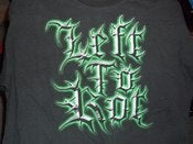 Image of Left to Rot Logo Shirt