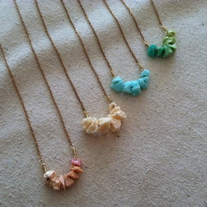Image of Mctega mini resin necklaces