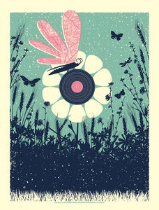 Image of Summer Music - Art Print