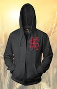 Image of THE MARK ZIP-UP (BLACK)