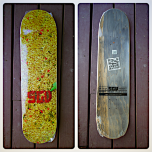 Image of SGV Fried Rice Skateboard