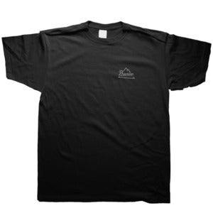 Image of Preview Mountain Logo T-shirt, black / grey