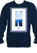 Image of Fall 12'|NDK (Navy) Ocean Crewneck |