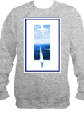 Image of Fall 12'|NDK (Grey) Ocean Crewneck |