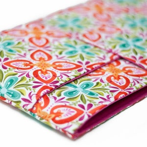 Image of MacBook Computer Case with Pocket: 11 13 14 15 17 18 Inch: Stonecrop Bloom Floral