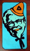Image of Solo One paste poster: KFC 'The Colonel' - Dunce