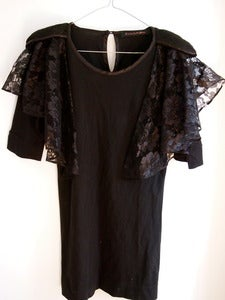 Image of Romance Was Born lace black dress size 12