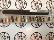 Image of Camo Stiletto Press On's w/ Swarovski Accent Nail 