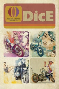 Image of DICE 4 COVERS POSTER
