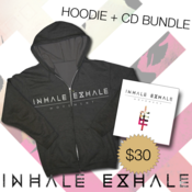 "Image of Inhale Exhale ""Movement"" Hoodie / CD or Vinyl"