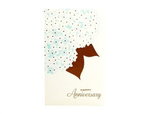 Image of Hydrangea Anniversary Card