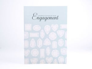 Image of Engagement diamonds card