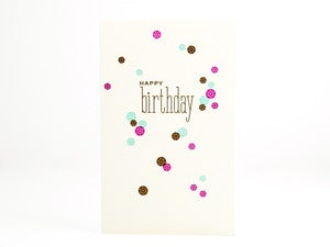 Image of Happy Birthday Sequins