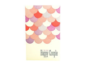 Image of Happy Couple Wedding Card