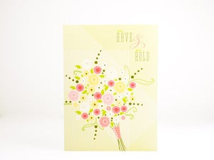 Image of Wedding Card to have and to hold