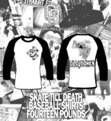 Image of Skate Till Death Baseball Shirt