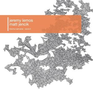 Image of Jeremy Lemos/Matt Jencik - three:four split series vol.5 (10&quot;)