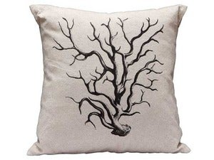 Image of Coral Canvas Pillow 20% off