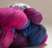 "Image of BATGIRL Sock Yarn, ""Gambit"", BFL-nylon, 464 yards"