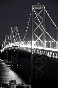 Image of 'Bay Bridge #2' Print 16x24