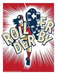 Image of Roller Derby - Art Print