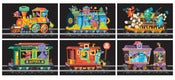 Image of Monster Train Postcard Series (6 Postcard Set)