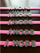 "Image of ""Hope"" for a Cure Bracelet"